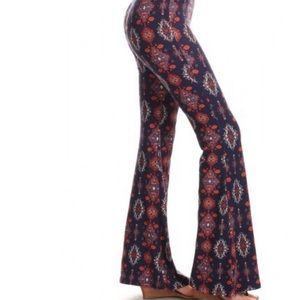 Pants - 🔺RESTOCKED🔺 Boho Chic Flare Legged Pants